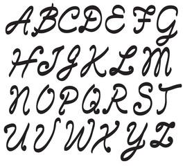 vector alphabet letters