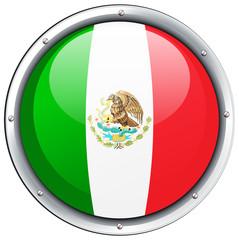 Icon design for Mexico flag