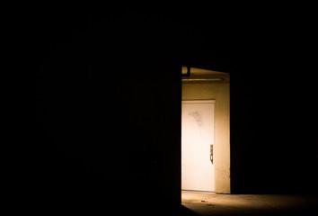 Door in Dark Wall