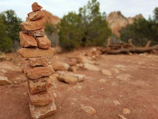 Focused Rock Stack
