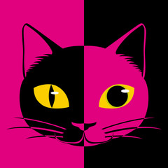 昼と夜の猫