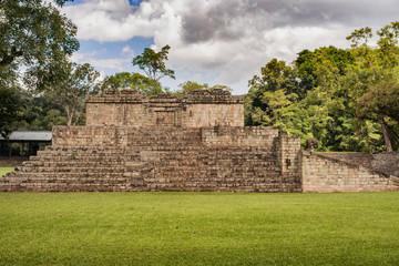 The Mayan ruins in Copan Ruinas, Honduras