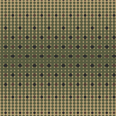 Halftone camo background. Vector dots texture retro. Abstract dots