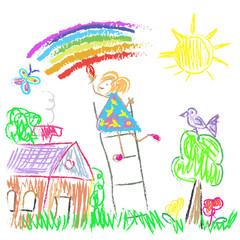 Kids Colored World