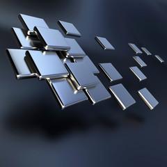 Metallic tiles