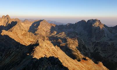 Fototapete - Tatras, Slovakia landscape