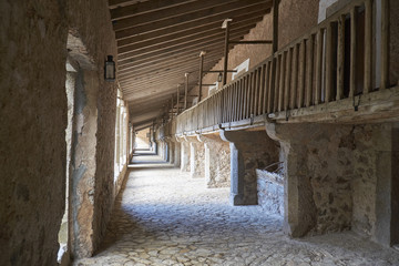 Wandergänge des Klosters Lluc,Serra de Tramuntana,Mallorca,Spanien