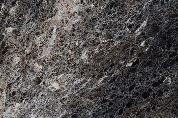 Black marble texture background, abstract natural texture for design.