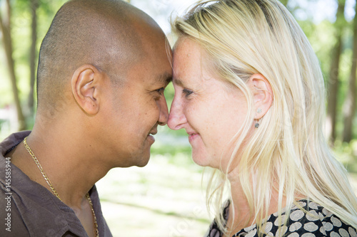 Royalty-Free Stock Photo. Download Couple Of African Elephant, Young And  Adult ...
