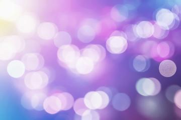 Colorful blur Bokeh Background.