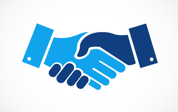 agreement handshake concept illustration