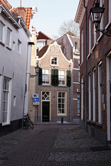 typical street in zwolle