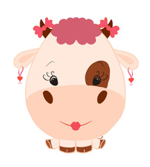 Funny Fashion Cow