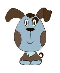 funny dog boy