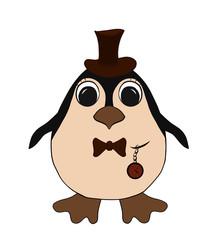 funny penguin Man