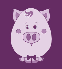 funny pig boy