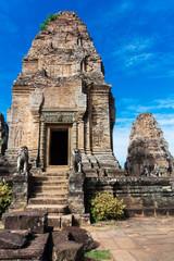 ruins East Mebon temple, Angkor wat complex
