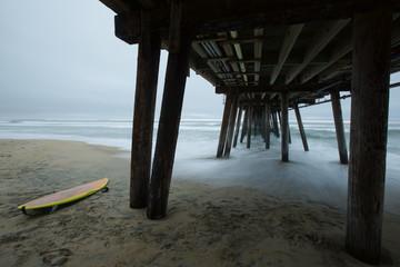 surf board pier