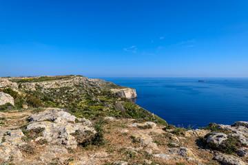 Majestätische Felslandschaft: Die Dingli Cliffs an Maltas Westküste