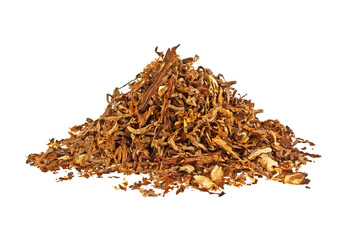 Tobacco isolated on a white background