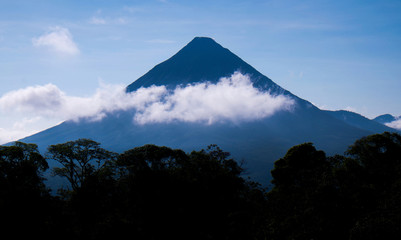 Arenal Volcano, Arenal national park, Costa Rica