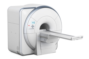 Magnetic Resonance Imaging Scanner MRI, 3D rendering