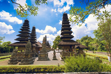 Taman Ayun is a royal temple of Mengwi Empire. It is one of the most attractive temples of Bali. Located near Mengwi in the south of Bali.