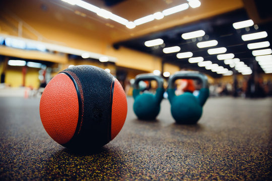 medicine ball to get better core strength and stability.