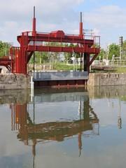 Charente-Maritime - Ecluses d'Andilly à l'embranchement du canal de Marans - La Rochelle et du canal du Curé