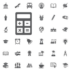 vector calculator icon.