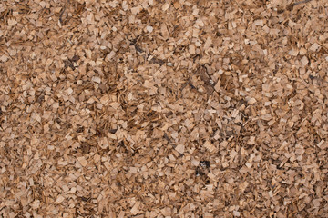 Woodchips from Cutting Firewood
