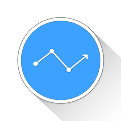 stock market Button Icon Business Concept