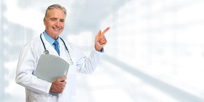 Senior medical doctor