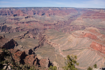 Grand Canyon National Park at Mather Point on the South Rim, Arizona, USA