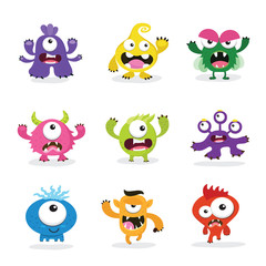 kids monster collection.