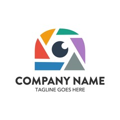 Unique Photography Logo Template