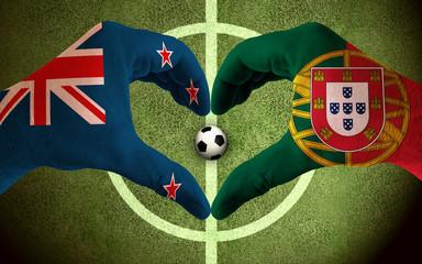 New Zealand vs  Portugal Confed Cup 2017