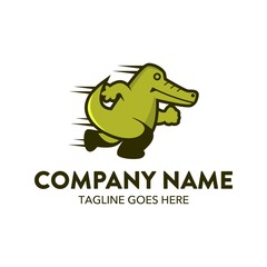 Unique Reptile Logo