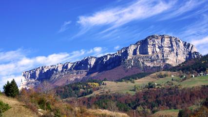 vallée des entremonts en chartreuse - alpes françaises