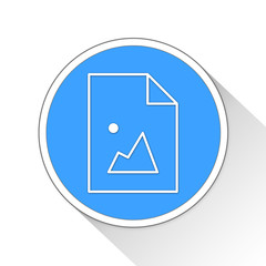 Picture Button Icon Business Concept