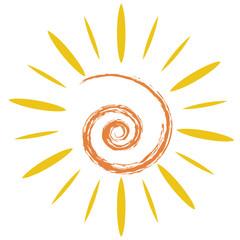 the doodle sun symbol