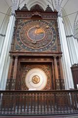 Rostock, Marienkirche, astronomische Uhr