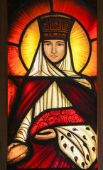 Stained Glass - Saint Therese of Lisieux