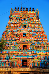 Wall Mural - Temple of Sri Ranganathaswamy in Trichy.