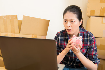 woman shocked real estate price increases
