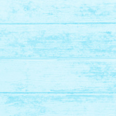 Blue painted wooden texture background