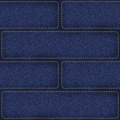 seamless denim patchwork background