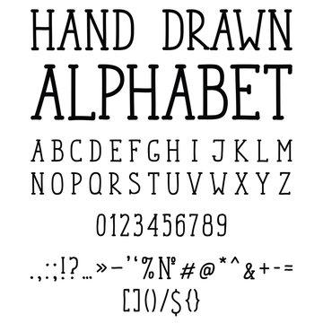 Hand drawn slab serif font for your design.
