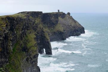 Seacliffs in Ireland
