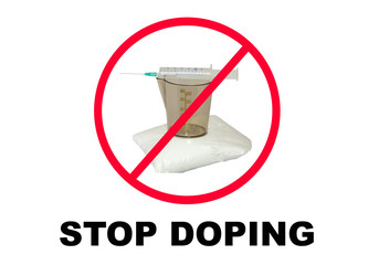 Stop drugs and doping